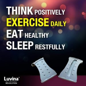 HEALTHIER BODY, FREE NECK PAIN & BACK PAIN WITH LUVINA STRETCHER