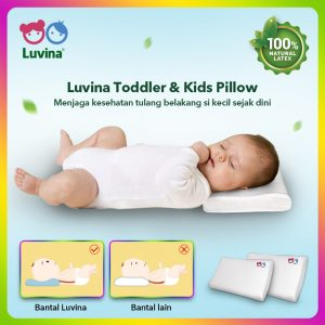 LUVINA TODDLER & KIDS PILLOW
