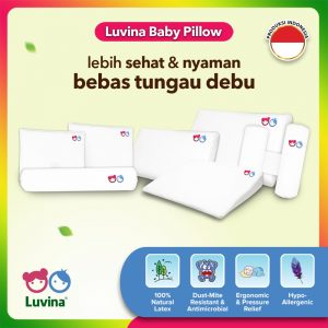 LUVINA HEALTHY LATEX PILLOWS & BOLSTERS FOR BETTER SLEEP YOUR BABY