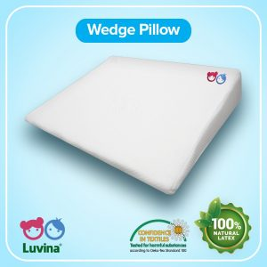 PREVENT YOUR BABY FROM HICCOUGH WITH LUVINA WEDGE PILLOW