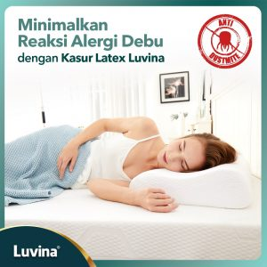 MINIMIZE DUST ALERGY REACTIONS WITH LUVINA LATEX MATTRESS