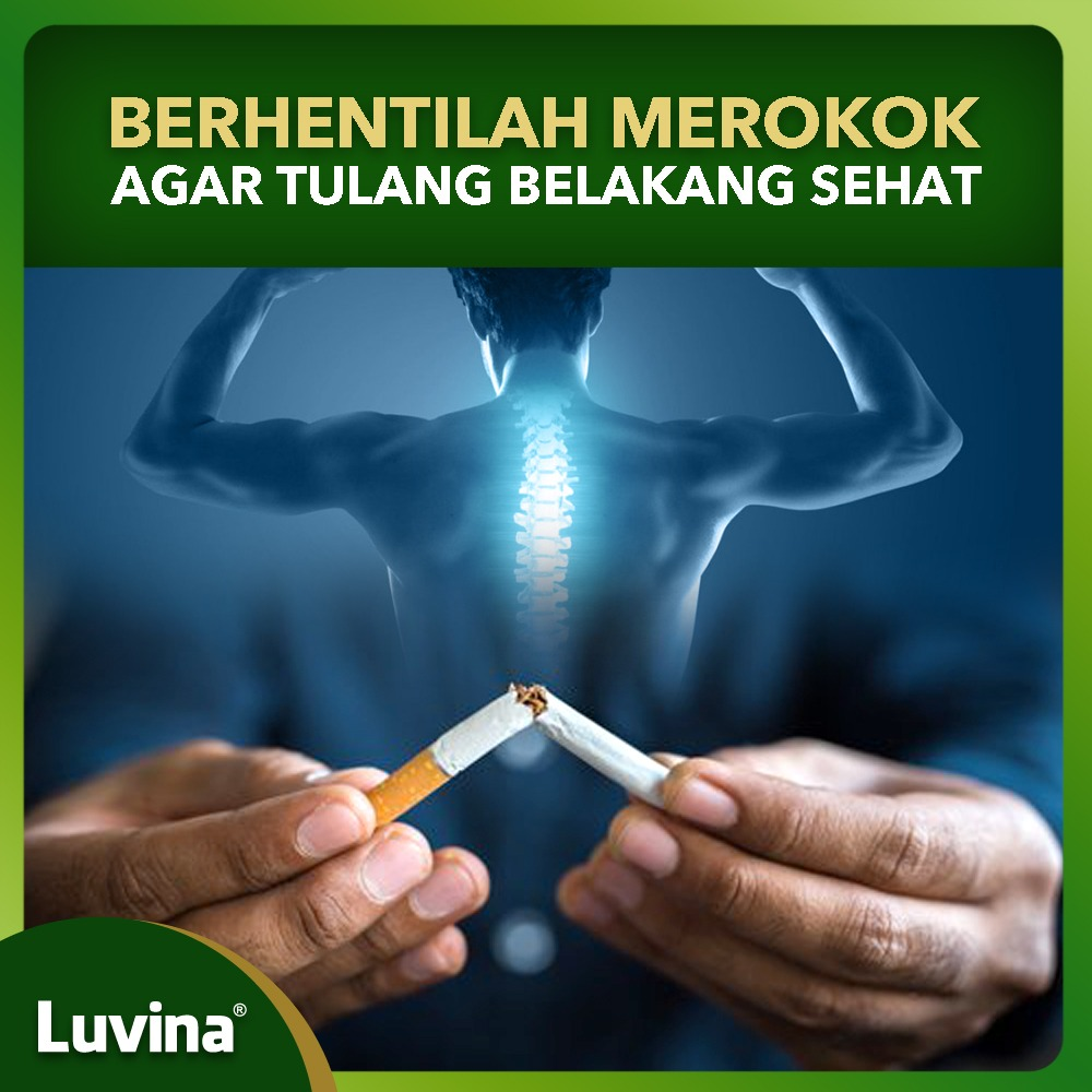 STOP SMOKING FOR SPINE HEALTH
