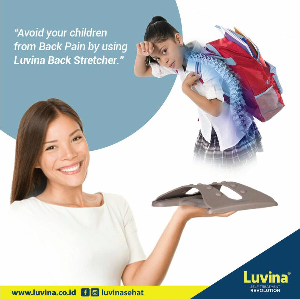 LUVINA STRETCHER HELP TO PREVENT HUNCHBACK ON CHILDREN