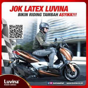 JOK LATEX LUVINA BIKIN RIDING TAMBAH ASYIKK!!