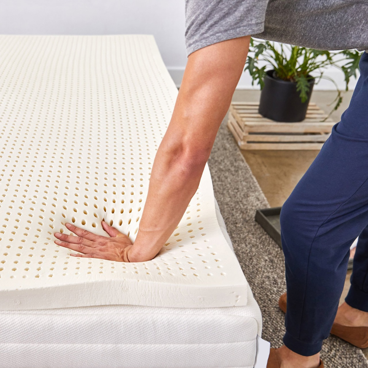 LUVINA LATEX MATTRESS 100% FULL NATURAL LATEX