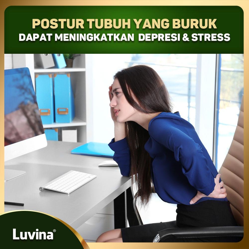 POSTUR TUBUH YANG BURUK DAPAT MENINGKATKAN  DEPRESI DAN STRESS