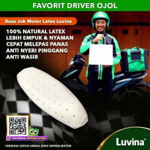 LUVINA  FOAM SEAT MOTORCYCLE , SOLUTION OF PREVENTING BACK PAIN ON DRIVING!