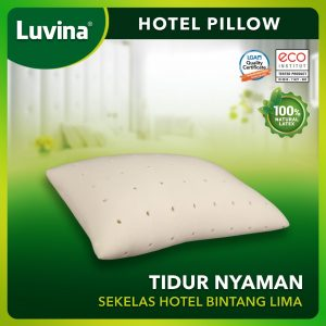 LUVINA HOTEL PILLOW, COMFORTABLE SLEEP AS 5 STARS HOTEL!