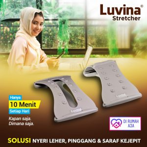 STAY HEALTHY, STAY FRESH  WITH LUVINA STRETCHER WHILE STAY AT HOME!