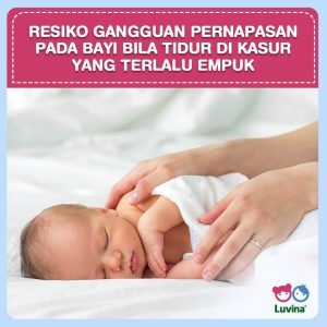 RISK OF RESPIRATORY DISORDERS TO BABY, WHEN SLEEPING IN THE TOO SOFT MATTRESS!