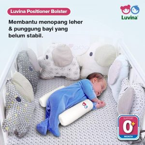 LUVINA POSITIONER BOLSTER FOR MORE COMFORT SLEEP YOUR BABY!