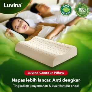 LUVINA CONTOUR PILLOW EFFECTIVELY REDUCES SNORING